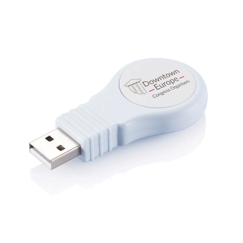 Downtown Europe memory stick with logo