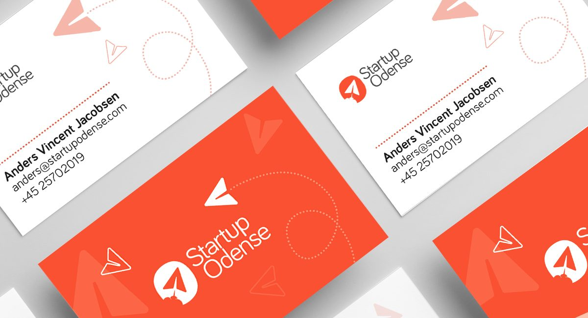 Startup Odense business cards